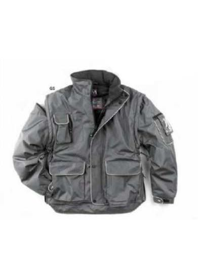 Jacket Jackson Plus, working style rip-stop con portabadge